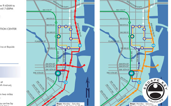 Miami Transit Map
