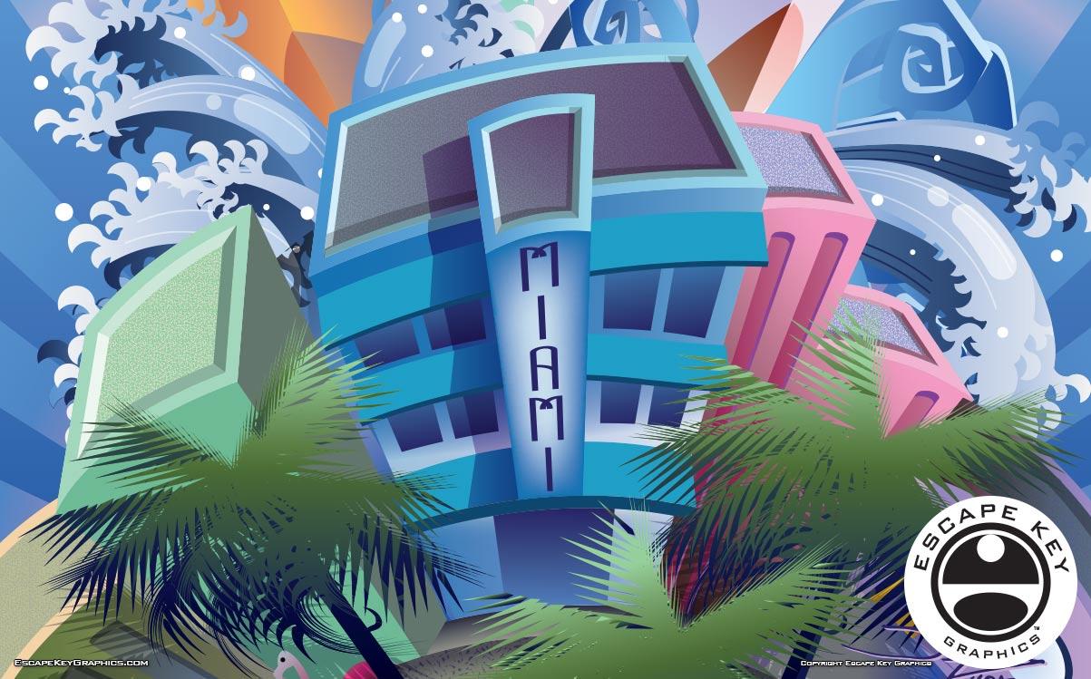 Boat Show Illustration 01