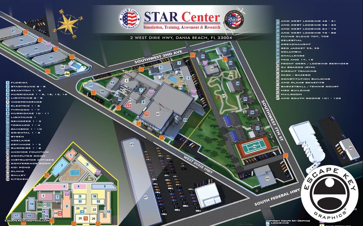 Illustrated Campus Map