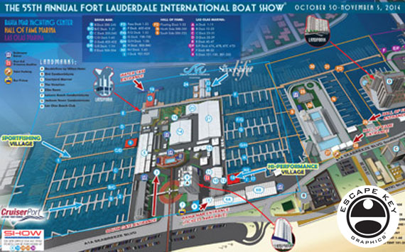 Boat Show Maps