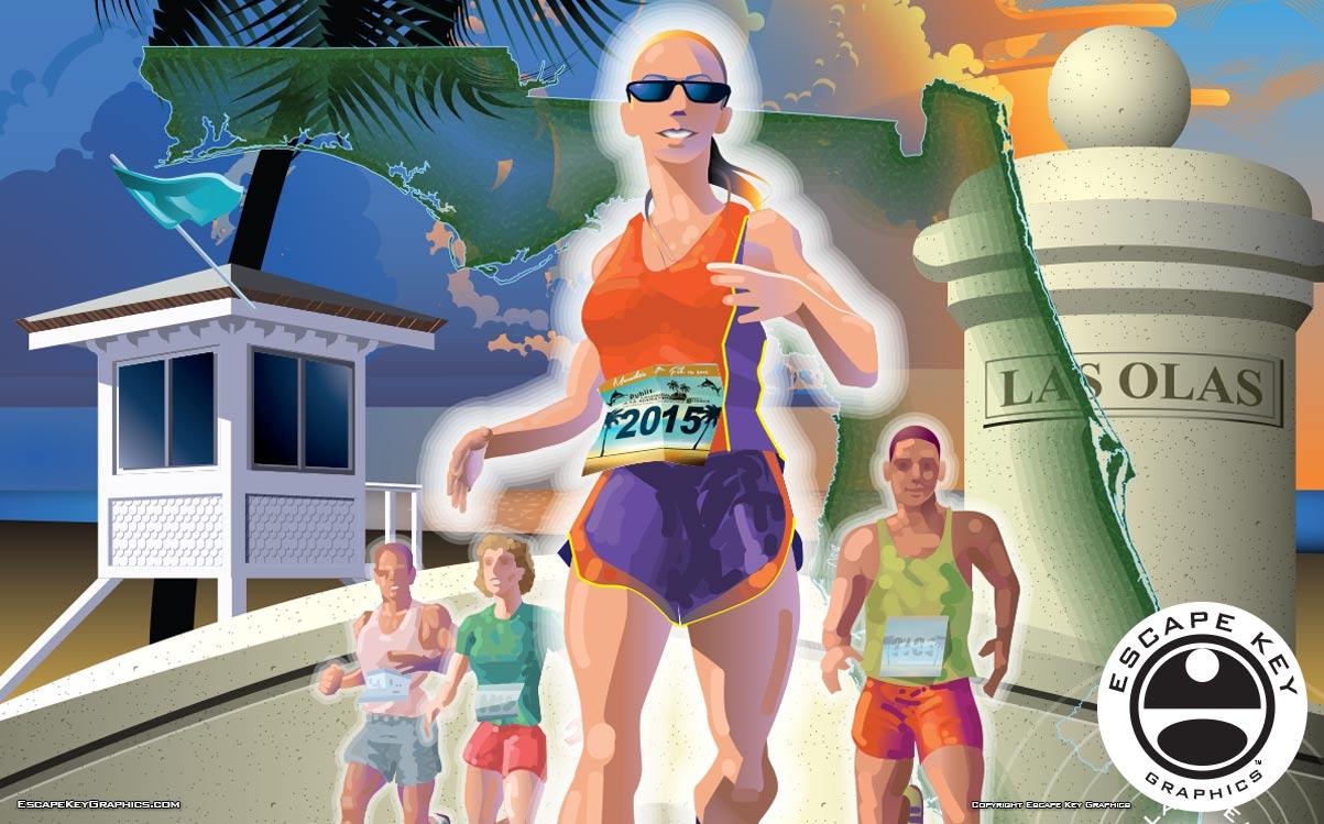 Poster Illustration by a Florida Illustrator