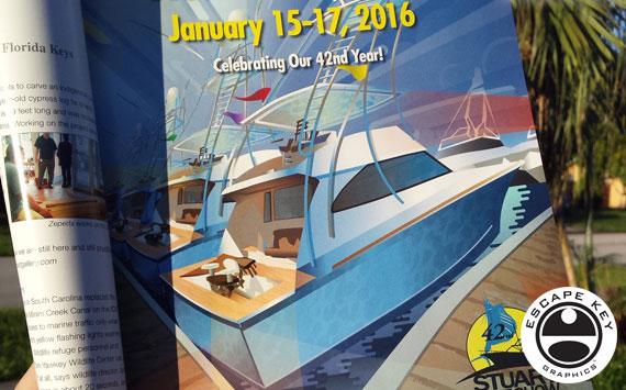 Boat Show Illustration