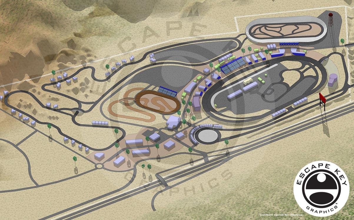 Proposed Motorsports Park Artwork