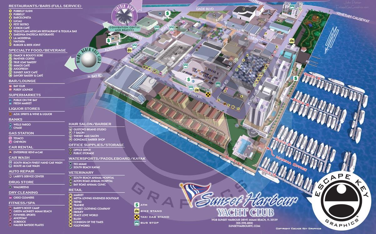 Sunset Harbour Model Tour