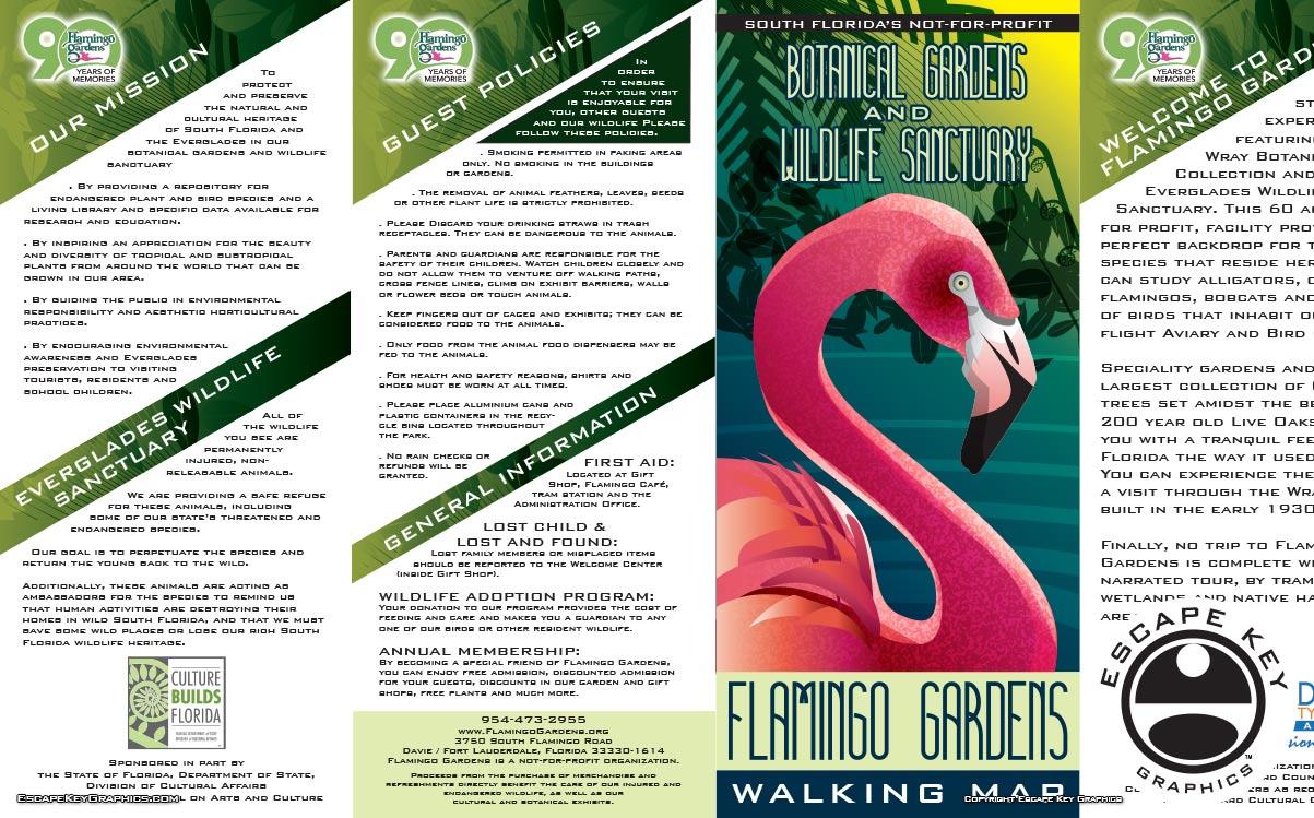 Botanical Gardens Brochure 2016