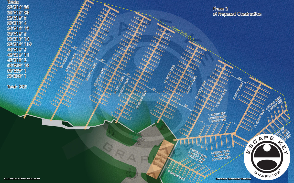 Marina Site Plans and Surveys