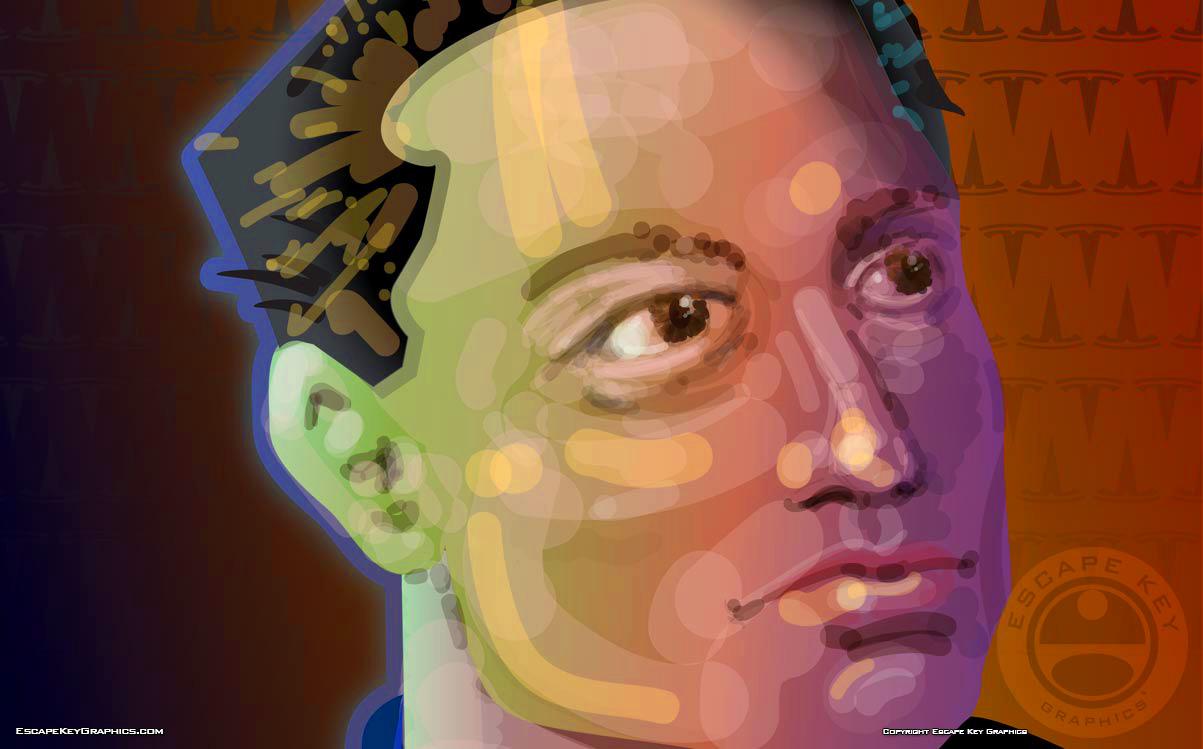 Vector Based Portrait
