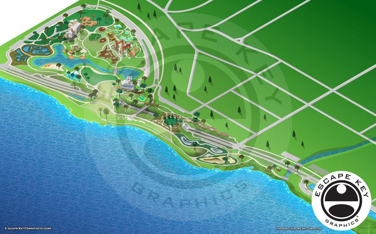 Tulsa, Oklahoma - Public Park Map