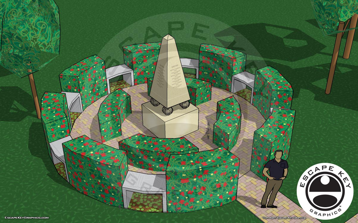 Memorial Monument Design
