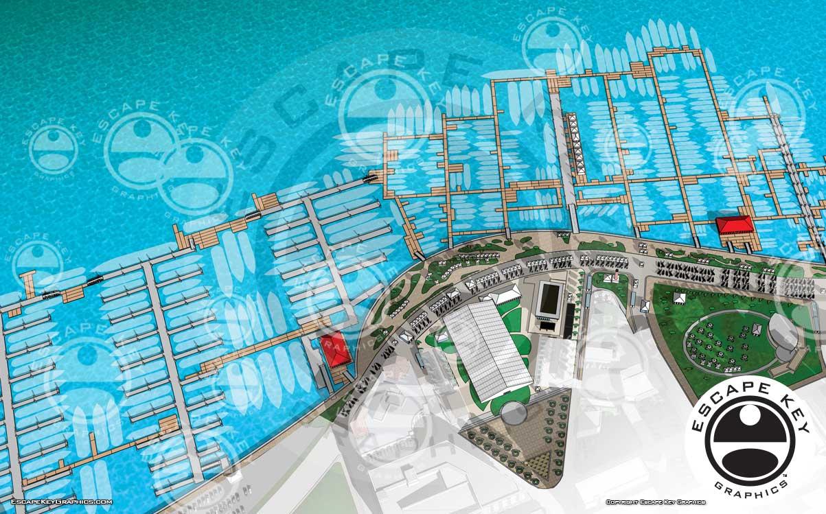 Palm Beach International Boat Show 2019 Map