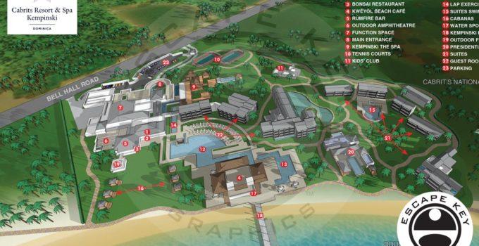 Cabrits Resort Kempinski Map