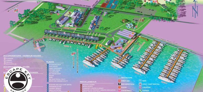 Illustrated Resort & Marina Maps