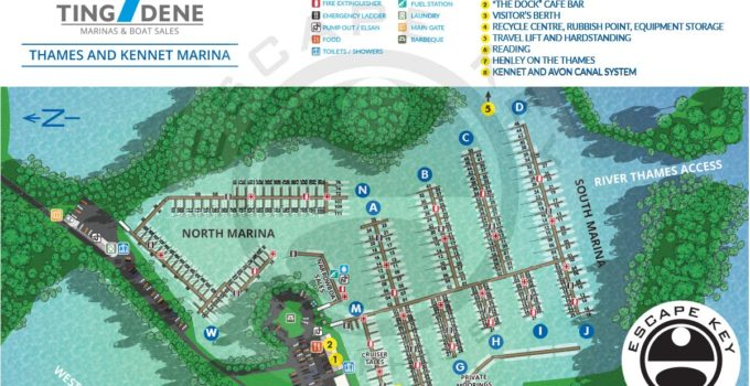 Map for a Marina in Reading