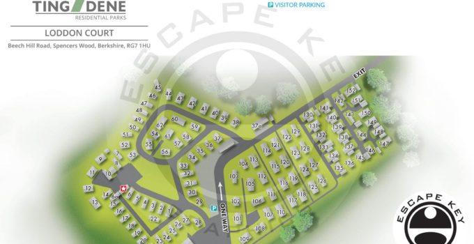 Berkshire, U.K. Residential Park Map