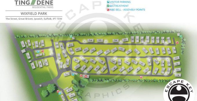 Suffolk, U.K. Residential Park Map
