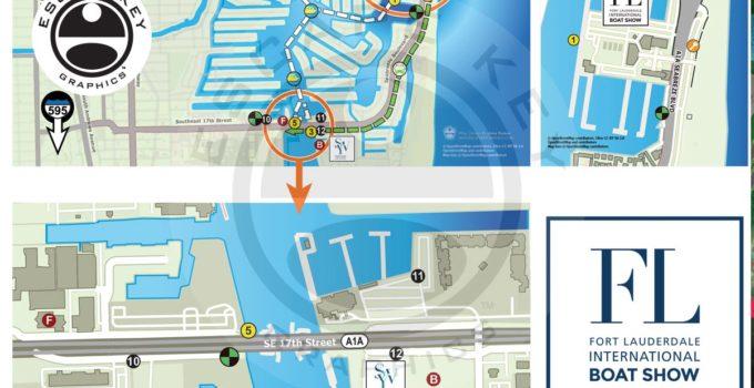 Fort Lauderdale International Boat Show Transit Map