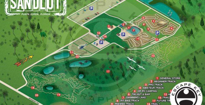 Off-Road Motorsports Park Map