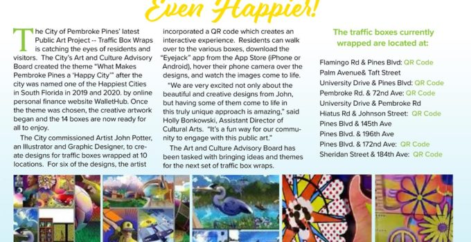 Our City Magazine Article About My Work
