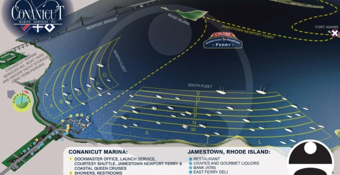 Update of Conanicut Marina Maps