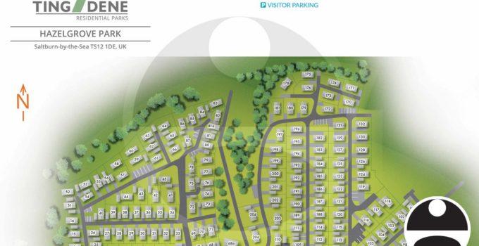 Hazelgrove Residential Park Map