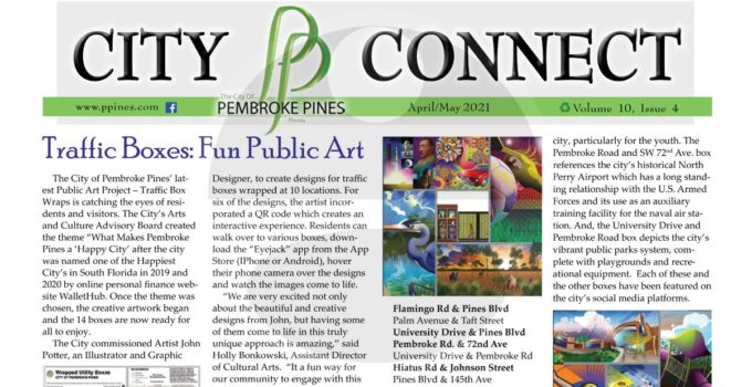 Article about my work on the front of City Connect