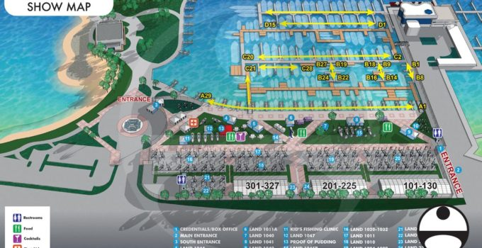 The Suncoast Boat Show 2021 Map