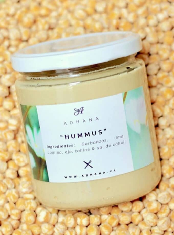 hummus natural adhana