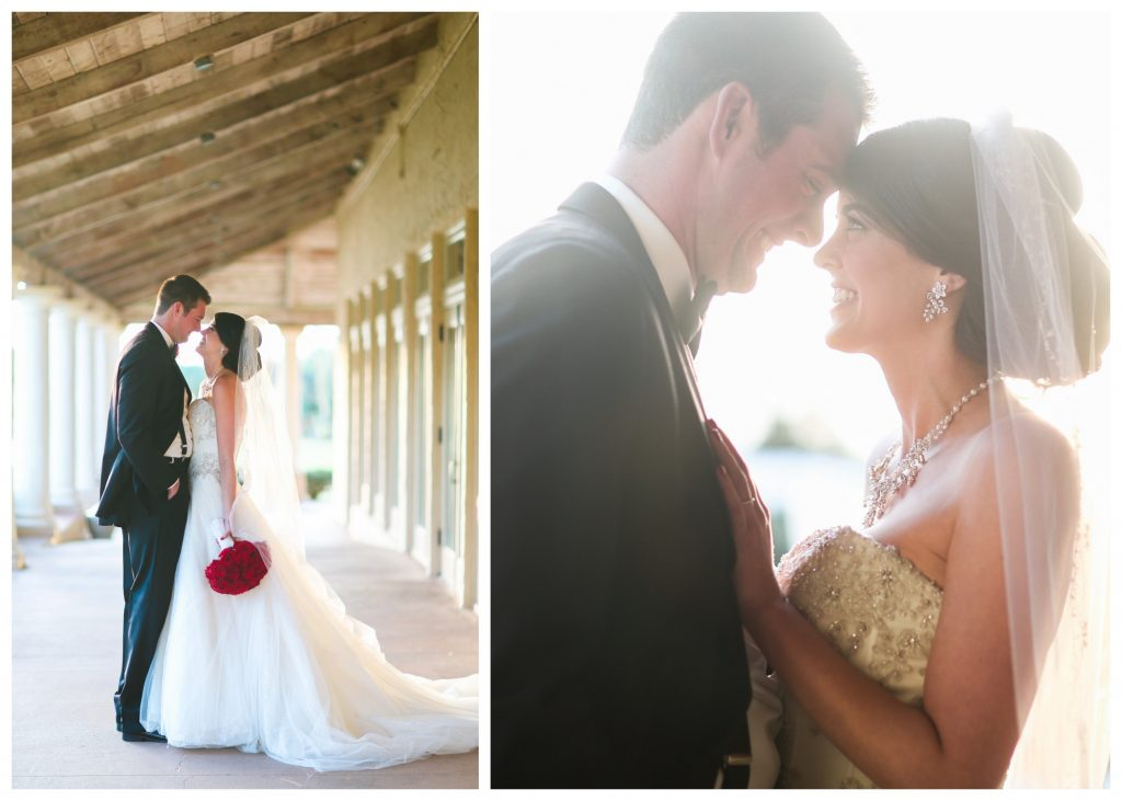Wedding Photo Shoot Bride & Groom Hallway   Red & Black Wedding Classic Romantic Dark Mission Inn Resort Anna Christine Events Wings of Glory Photography