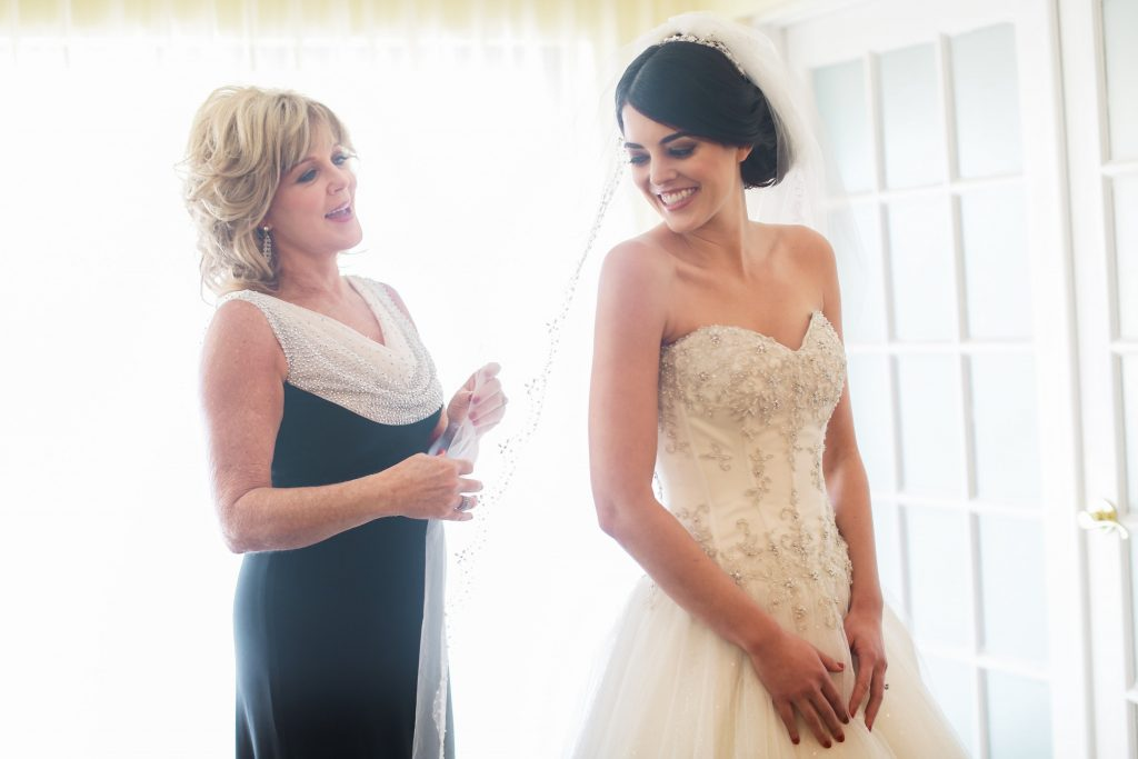 Mother of the Bride Veil Dress   Red & Black Wedding Classic Romantic Dark Mission Inn Resort Anna Christine Events Wings of Glory Photography