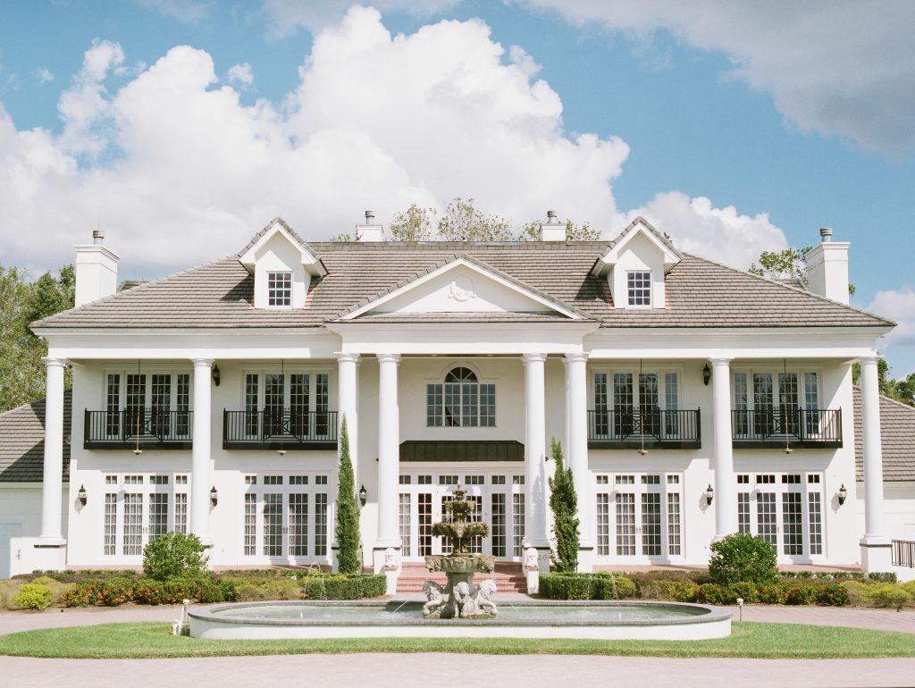 Luxmore Grande Estate Outdoor Venue | Travel Inspired Themed Glamorous Gold & White Wedding Luxmore Grande Estate Anna Christine Events Justin DeMutiis Photography