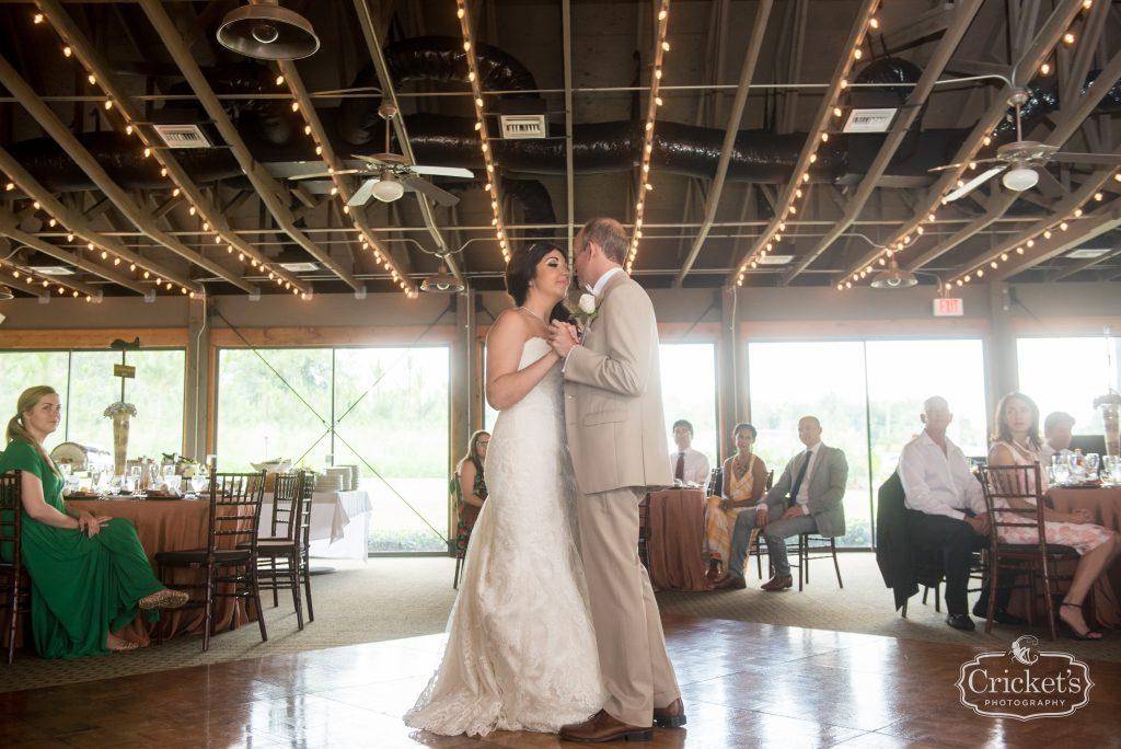 First Dance Bride & Groom | Travel Themed Inspired Wedding Mission Inn Resort Orlando Florida Anna Christine Events Cricket's Photo & Cinema
