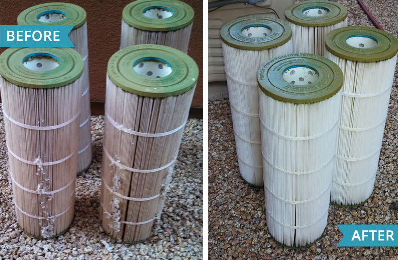Pool Filters…Changing and Cleaning Them