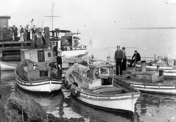 Boats at the Wharf