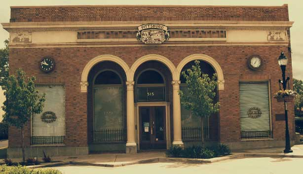 Exterior of the Pittsburg Historical Museum on Railroad Ave Pittsburg CA
