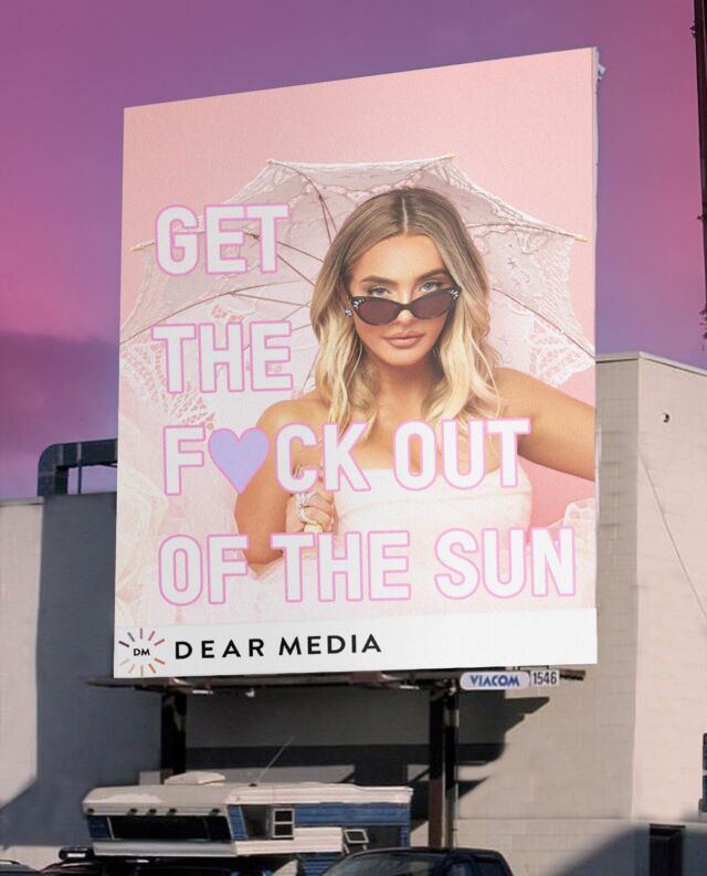 'GET THE FUCK OUT OF THE SUN' 👛☂️ a new limited series podcast w @dearmediastudio - the ultimate cheeky skincare resource served to YOU on a pink platter (oh & no michael, so no interruptions).  • subscribe on Spotify & Apple Podcasts- LEAVE A 👒 IF U R SUBSCRIBING & we will send some of u GTFOOTS pink bookmarks •