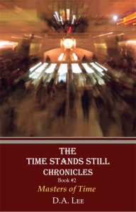 Front Cover Book 2 - Master of Time