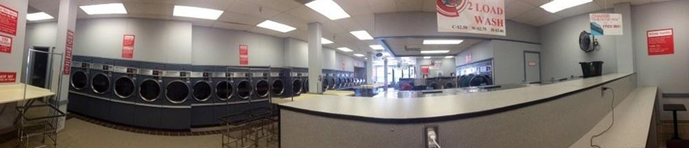 Hillside Laundry located near SUNY Oswego downtown Oswego and the marina