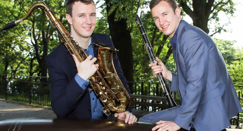 The Anderson Brothers play Gershwin at Arts Garage in January 2020