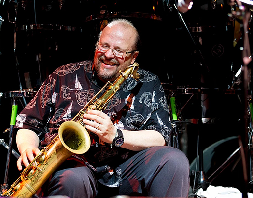 Ed Calle's Jazz Ensemble performing live at Arts Garage in June 2019
