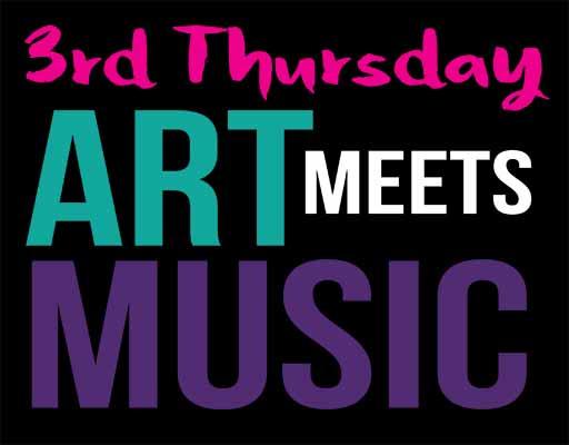 Third Thursday art meets music in 2019