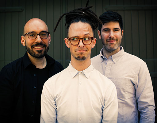Philippe Lemm Trio performing live at Arts Garage in January 2020