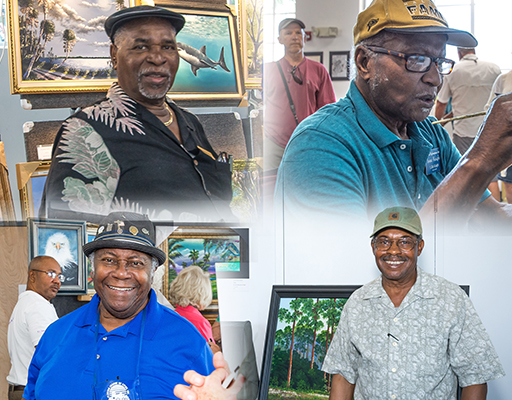 Florida Highwaymen at Arts Garage in February 2020