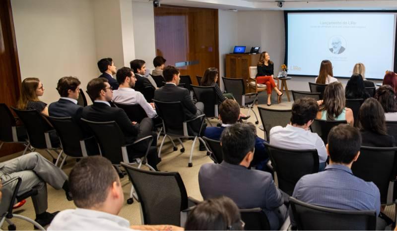 Evento de lançamento do Lire no escritório de São Paulo, em 2019
