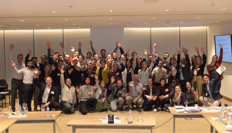 Primeira edição do evento Out&Equal Strategy Session on LGBTI Workplace Inclusion in Brazil, realizada em 2019 no escritório do Mattos Filho em São Paulo