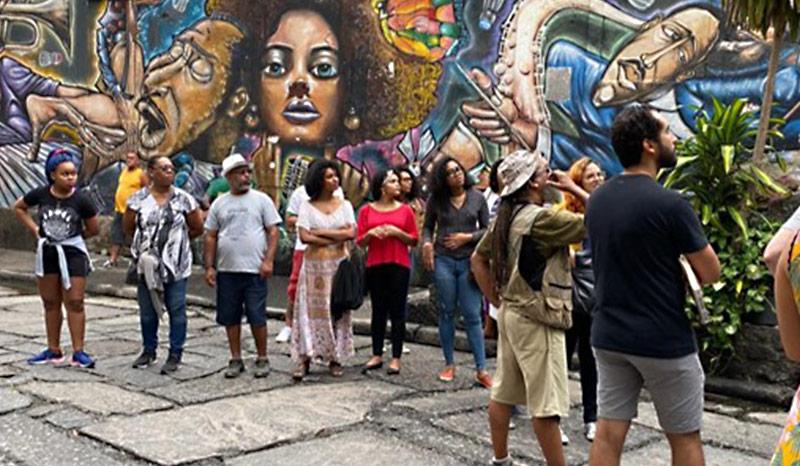 Evento realizado nas comemorações do Dia da Consciência Negra em 2019