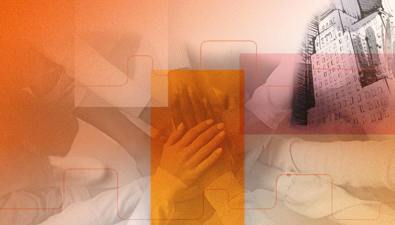 Imagem ilustrativa: foto de várias mãos juntas umas em cima das outras.
