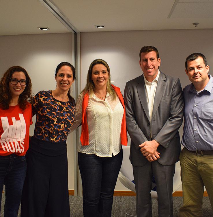 Lançamento do programa de voluntariado Mova no escritório do Rio de Janeiro em 2019