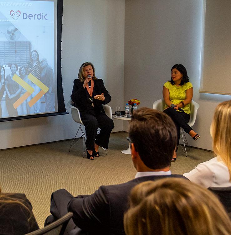 Lançamento do programa de voluntariado Mova no escritório de São Paulo, em 2019