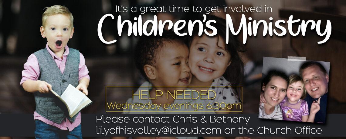 Children's Ministry Help