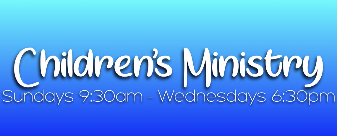 Reopening Children's Ministry